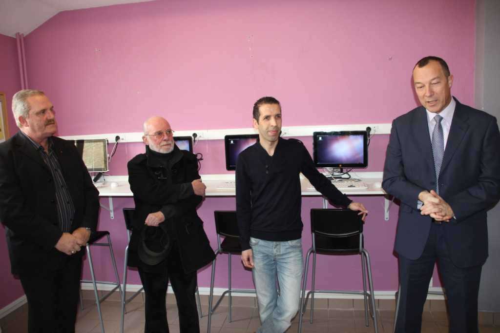inauguration du p u00f4le insertion